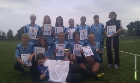 Юные футболистки из «Академии футбола» добыли в Воронеже «бронзу»