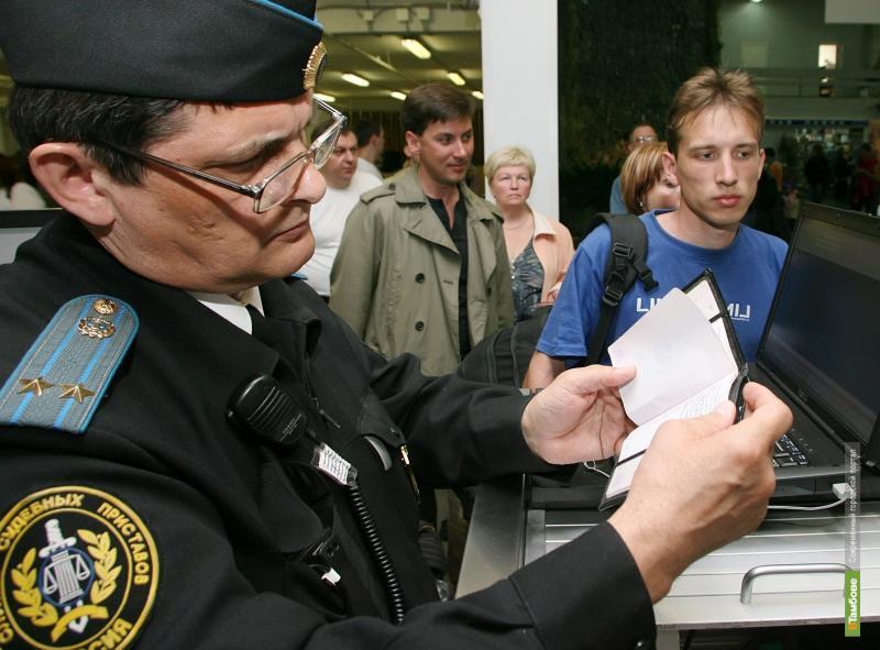 Тамбовских должников не пустят за границу
