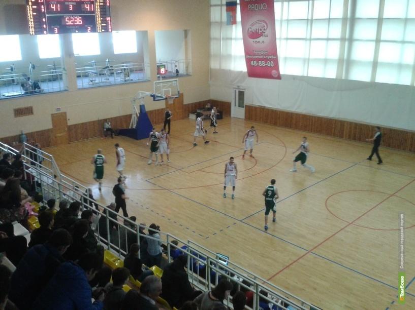 Баскетболисты из Тамбова взяли реванш у москвичей