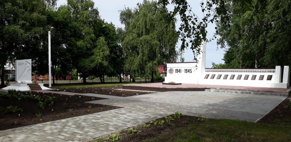 В селе Караул открыли новый мемориальный комплекс