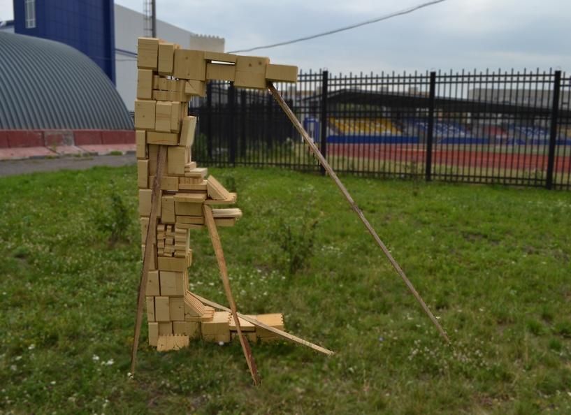 Студенты ТГТУ воплотили в дереве свои архитектурные фантазии
