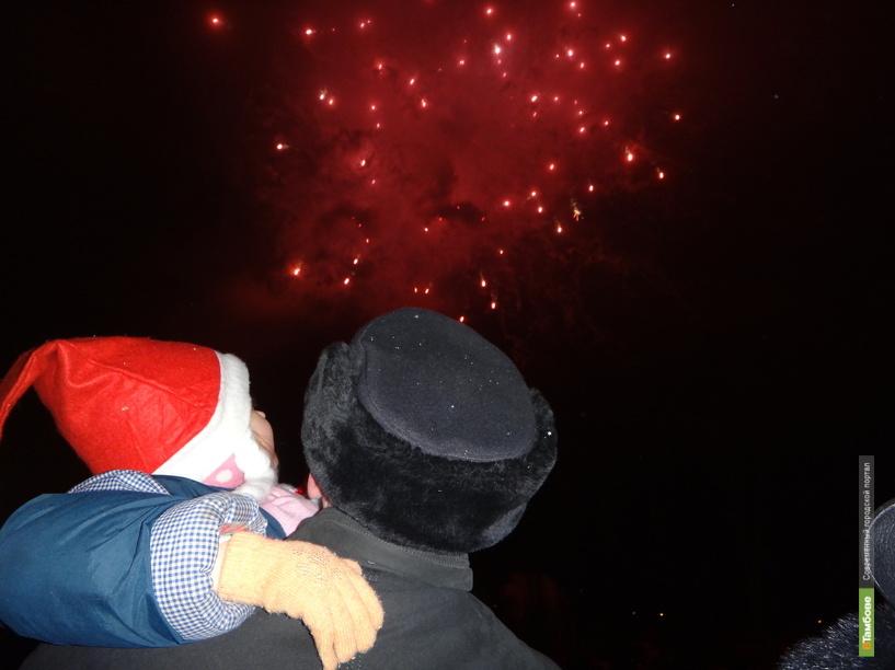 На Новый год в небе над Тамбовом расцветут три салюта