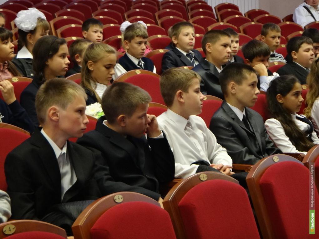 Тамбовские школьники отправились в Санкт-Петербург