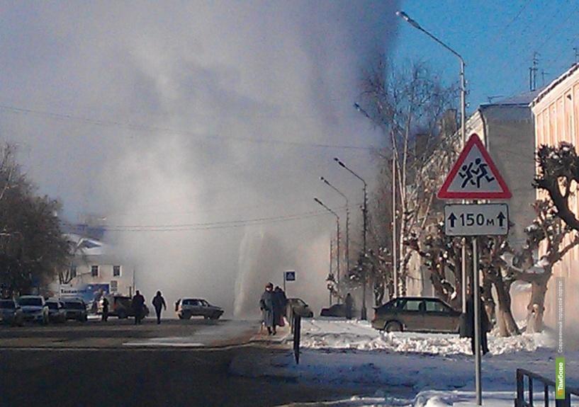 В центре Тамбова произошла коммунальная авария