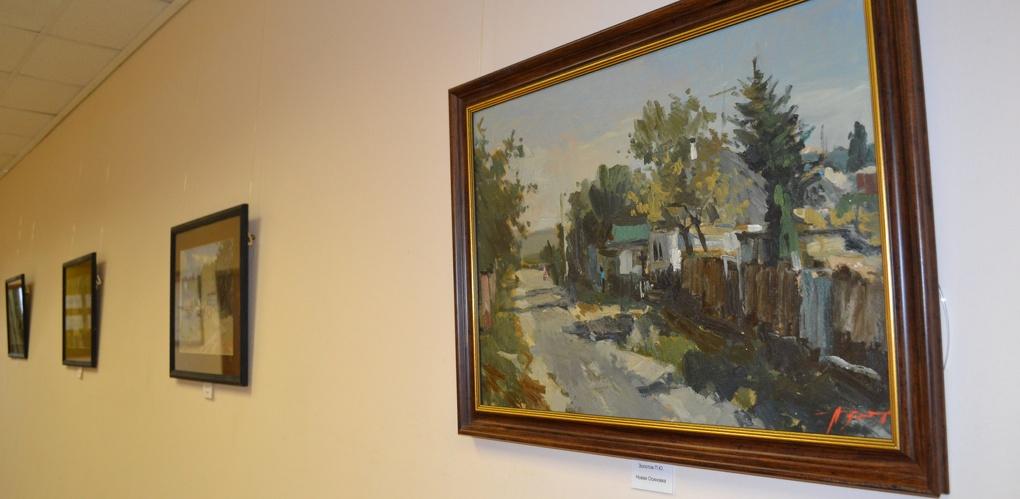 Выставка картин Павла Золотова открылась в Тамбовском филиале РАНХиГС