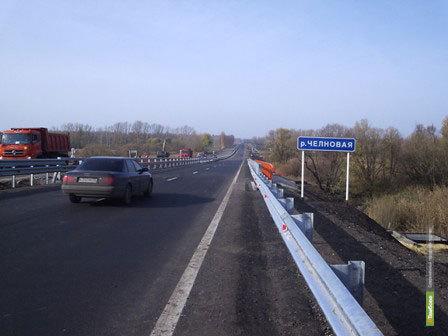 На тамбовском отрезке М-6 «Каспий» ограничат движение транспорта
