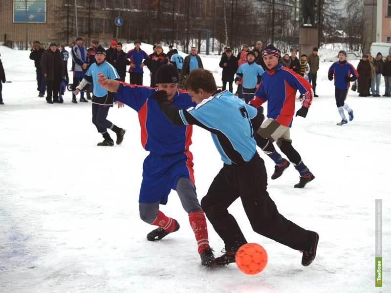 Тамбовчане сыграют в футбол на снегу