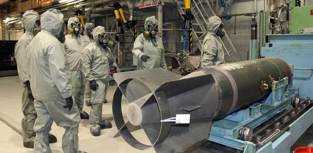 Химическое разоружение: Россия уничтожила все запасы зарина