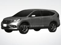 Появились первые снимки новой Honda CR-V