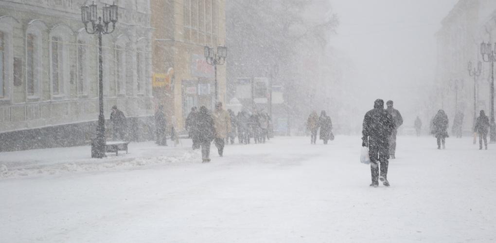 Синоптики обещают тамбовчанам завтра метель и мороз