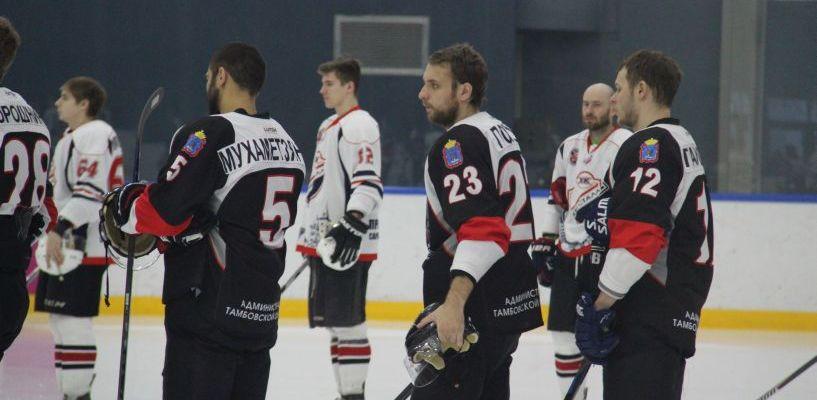 Тамбовские хоккеисты разгромили саратовских «юниоров»