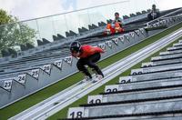 Лучшие летающие лыжники мира соревновались на горе Долгой