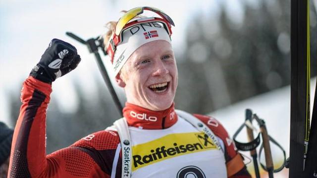 Мужской спринт на ЧМ выиграл Йоханнес Бё