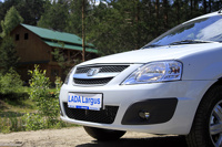 Largus под шашлычок: новую Lada показали журналистам