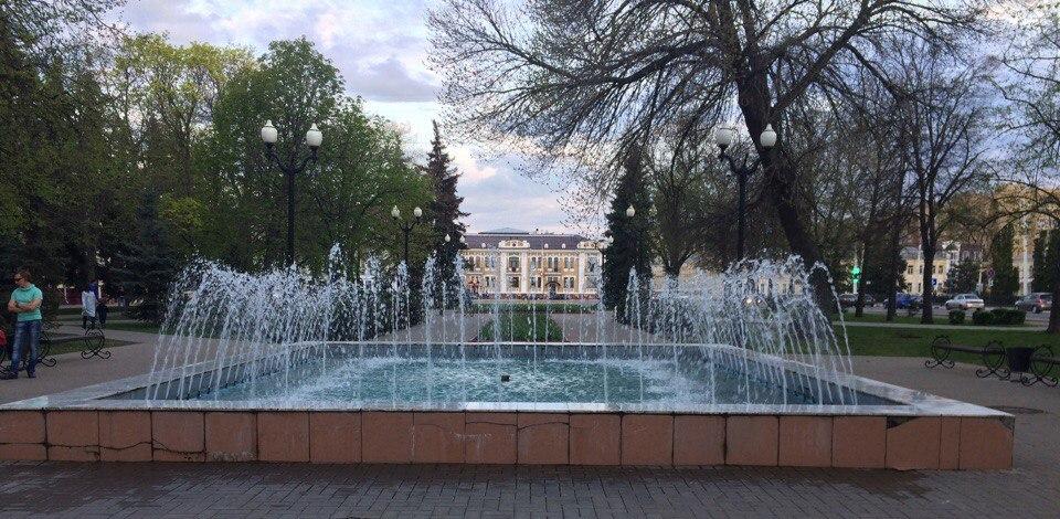В областном центре официально открылся сезон фонтанов
