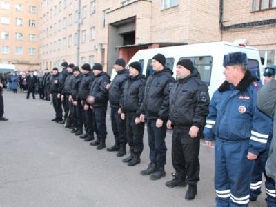 Тамбовские СОБРовцы отправились в командировку на Северный Кавказ