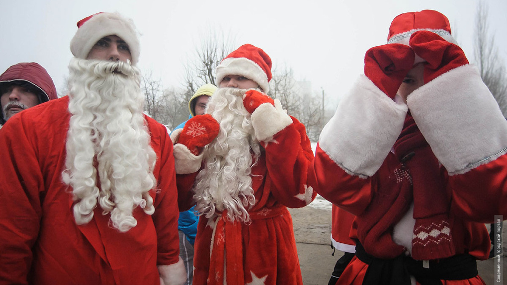 2018 метров: в Тамбове состоится «Забег Дедов Морозов»