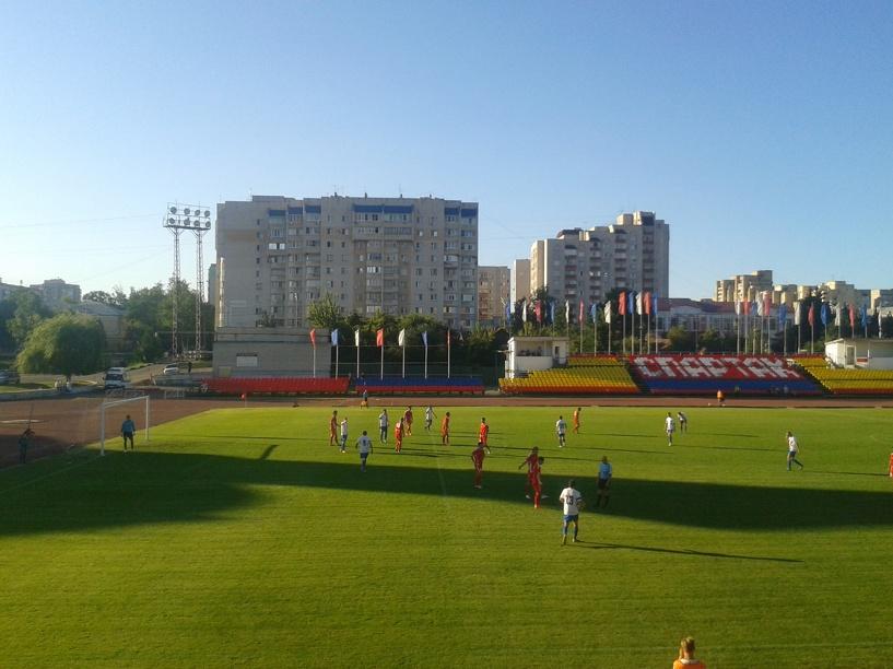 ФК «Тамбов» вышел на первое место в чемпионате России сезона 2014/2015