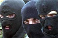 Вооруженные грабители захватили фургон с грязным бельем