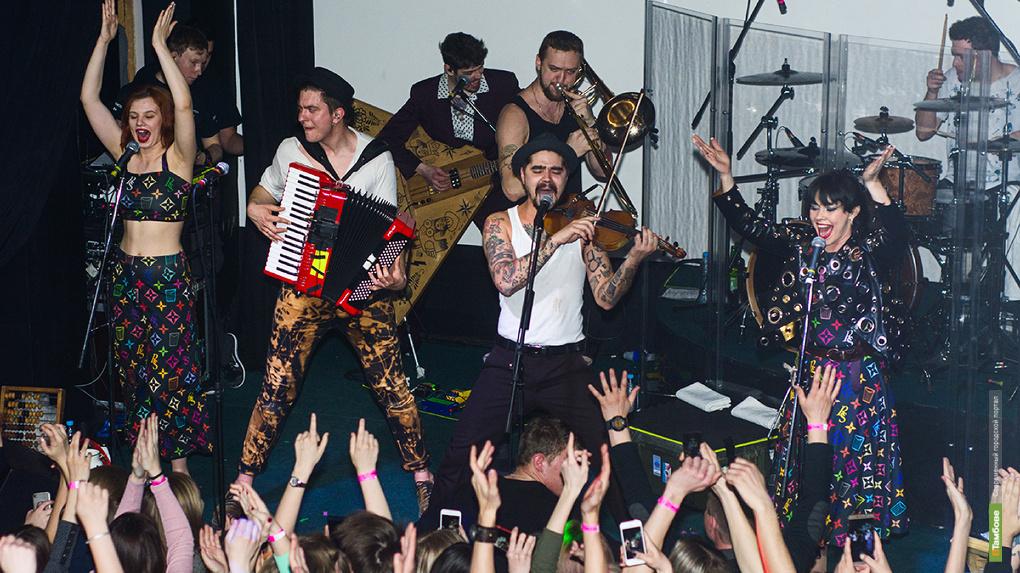 Группа The Hatters с большим сольным концертом посетила Тамбов