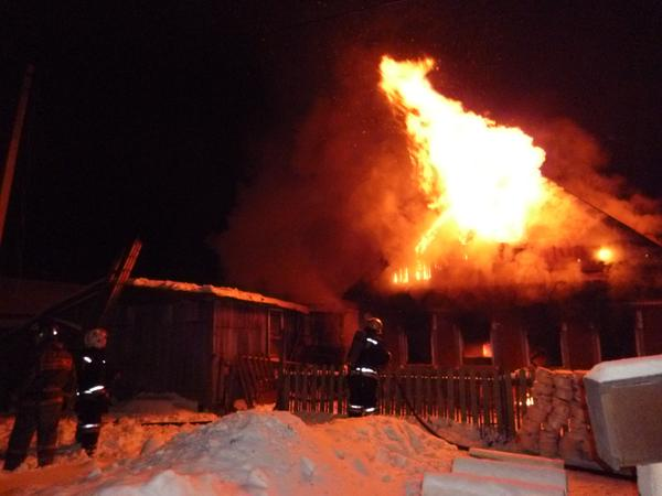 Пожар в Рассказовском районе унёс жизнь молодого мужчины