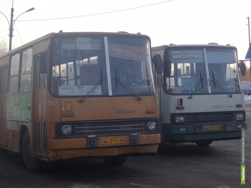 Тамбовские автобусы не имеют права сходить с маршрута раньше времени