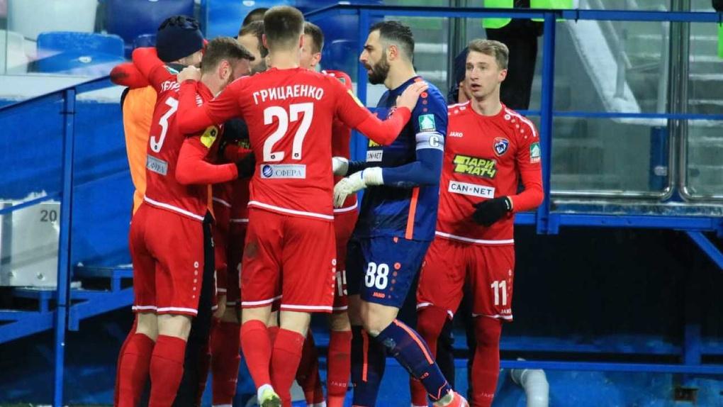 ФК «Тамбов» разгромил «Крылья Советов», возможно, в последнем матче европейского футбола перед остановкой