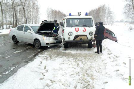 """Две аварии произошли на трассе """"Тамбов-Шацк"""" в течение часа"""