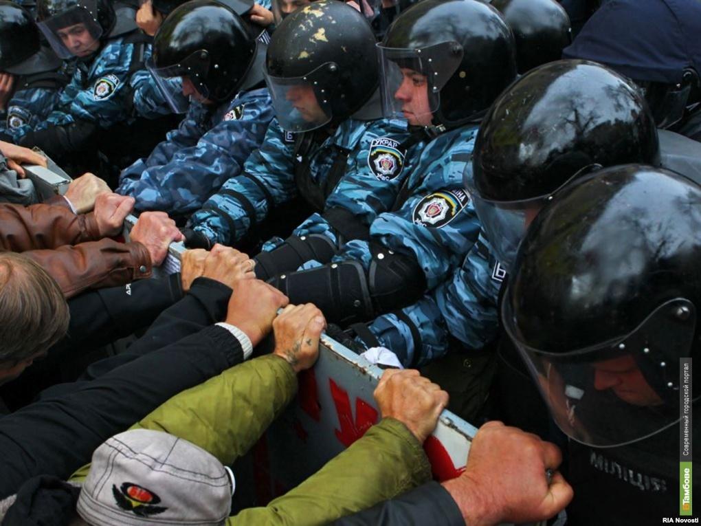 Власти Украины проводят спецоперацию на юго-востоке страны
