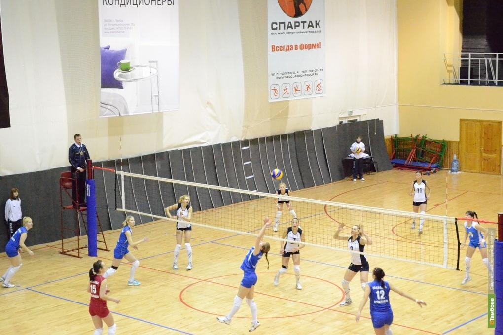 Юные тамбовчане поборются за титул волейбольного чемпиона