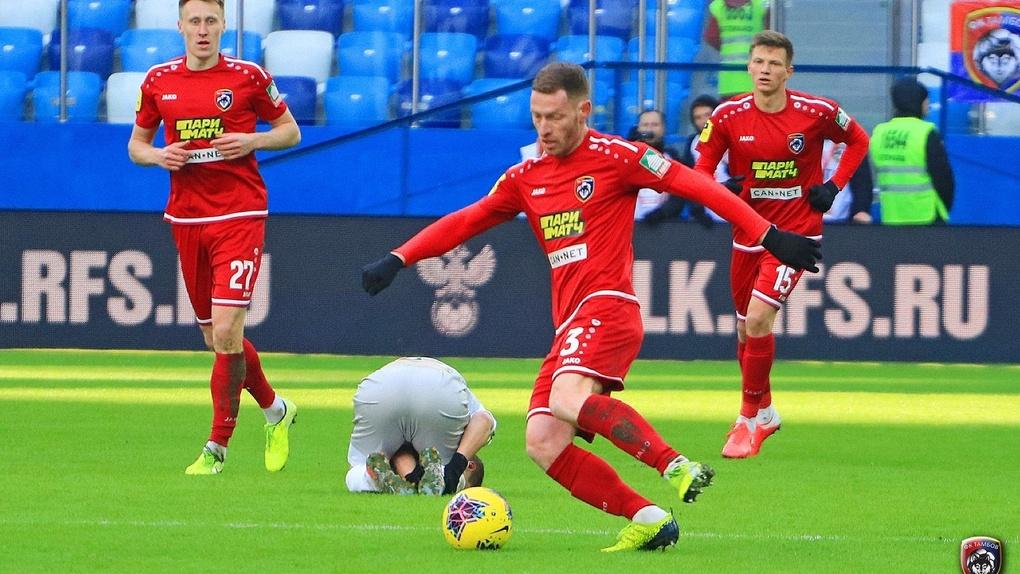 ФК «Тамбов» сыграл вничью с «Рубином» в первом матче возобновившегося сезона