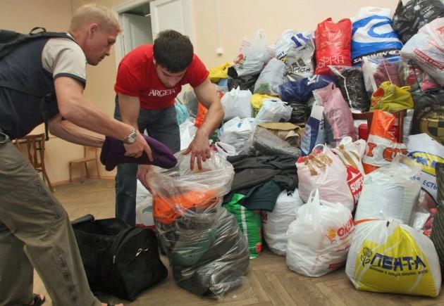 Народная новость: в Тамбове организован сбор помощи для беженцев из Украины.