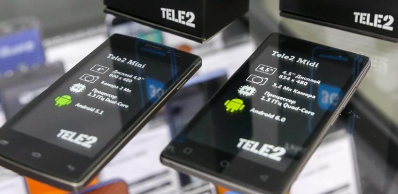 Tele2 снизила цены на брендированные смартфоны в Тамбовской области