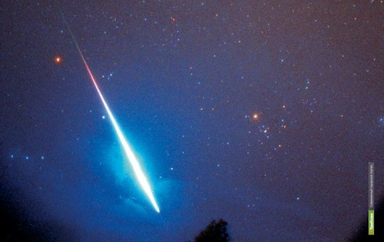 Жители земли увидят метеорный поток