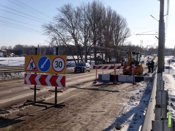 Ремонтные работы – новые заботы на мосту на ул. Астраханская
