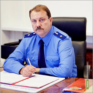 Главного прокурора Тамбовщины наградили в честь праздника