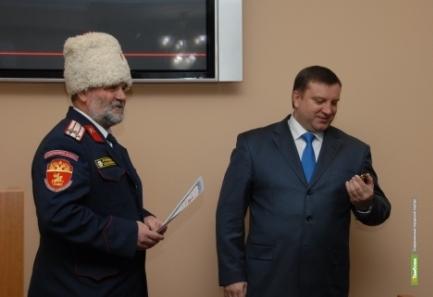 Тамбовский мэр стал почетным казаком