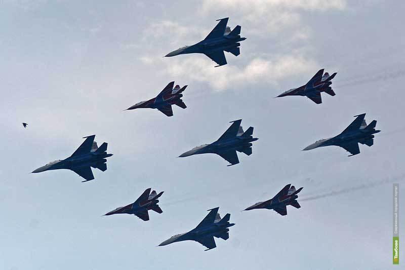«Русские витязи» и «Стрижи» возвращаются на МАКС