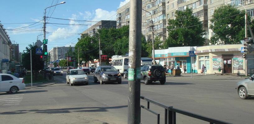 В центре Тамбова во время движения в автобусе упала женщина