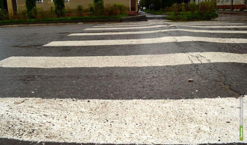 К 1 сентября в Тамбове появились новые пешеходные переходы