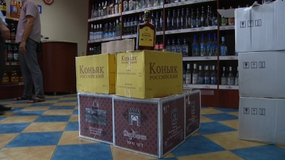 В Тамбове изъяли крупную партию контрафактного алкоголя