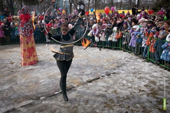 Празднование Широкой Масленицы в Тамбове растянется на несколько часов