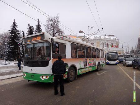 Власти Тамбова рассматривают возможность закупить новые троллейбусы