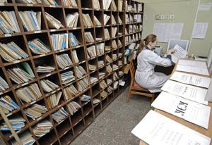 В Тамбове бумажные медкарты заменят электронными