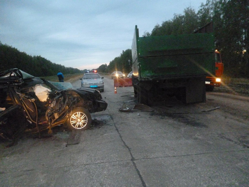 В Тамбовской области на трассе в ДТП погиб ребёнок