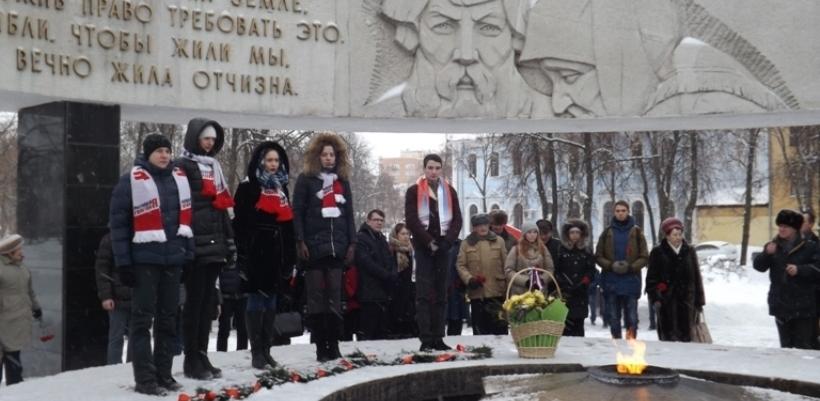 В Тамбове прошёл митинг, посвященный Дню снятия блокады Ленинграда