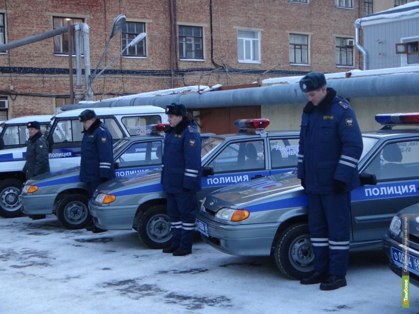 35 новых авто получили тамбовские полицейские