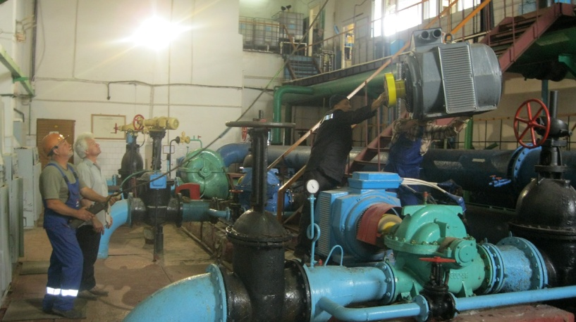 В Тамбове на втором водозаборном узле идут масштабные работы