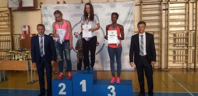 Тамбовчанка выиграла чемпионат мира по летнему полиатлону среди студентов