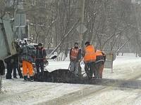 Тамбовские дороги перекрыли для ремонта водовода